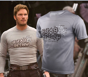 f98535c60 Movie Guardians Of The Galaxy Vol 2 Star-Lord Men T-Shirt Short ...