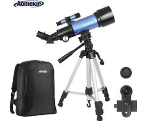 Aomekie-Telescope-70mm-Apeture-Travel-Scope-400mm-AZ-Mount