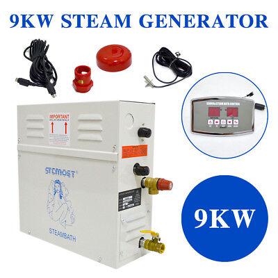 Automatic 9kw Steam Generator Sauna Bath Home Spa Shower St 135m Controller 682698160923 Ebay