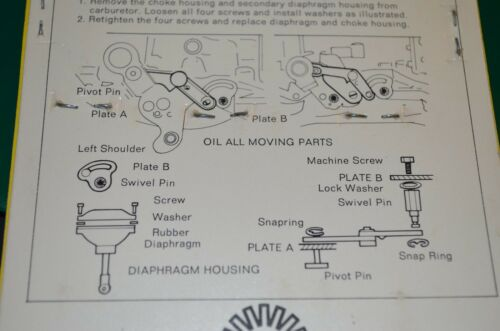 CHEVROLET HOLLEY VACUUM ELIMINATOR KIT VINTAGE AUTO PARTS