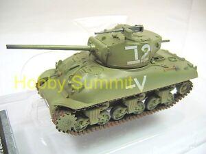 1-72-US-WW2-SHERMAN-M4A1-76-W-TANK-Israeli-Armor-Brigade-re-Table-War-Game