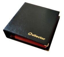 Black Coin Album for 280 Medium Coins 50p £1 £2 Book Folder Big Capacity Pages