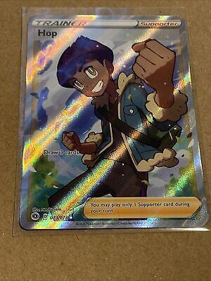 Full Art Ultra Rare 73//73 Pokemon Champions Path Trainer Card Hop