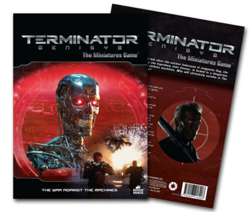 WARLORD GAMES THE WAR AGAINST THE MACHINES TERMINATOR GENISYS