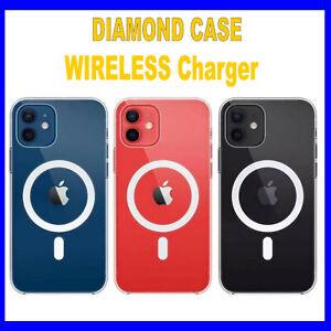 Dettagli su Cover Custodia MagSafe per Apple iPhone 12 /12 Pro MAX /Mini magnetica VETRO