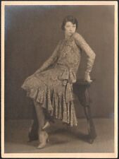 Mode. Robe vers 1925. Tirage d'époque.