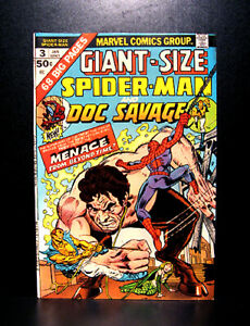 COMICS-Amazing-Spider-Man-Giant-Size-3-1975-1st-Spidey-amp-Doc-Savage-team-up