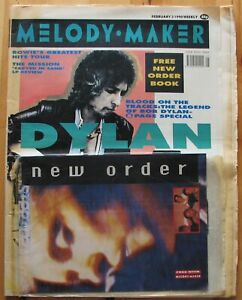 Melody-Maker-v66-Issue-5-February-3-1990-BOB-DYLAN-David-Bowie-NEW-ORDER-Book