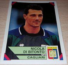 FIGURINA CALCIATORI PANINI 1993/94 CAGLIARI DI BITONTO ALBUM 1994