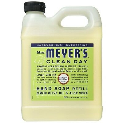 Mrs Meyers Clean Day Hand Soap Refill Lemon Verbena 33