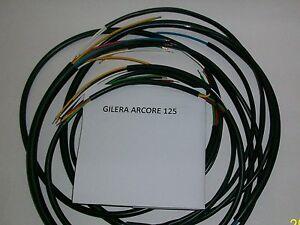 IMPIANTO ELETTRICO ELECTRICAL WIRING MOTO GILERA ARCORE 125 + SCHEMA ELETTRICO