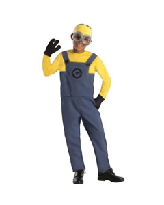 Child Boys Minion Dave Costume Rubies Universal Funny Halloween Deluxe Small Ebay