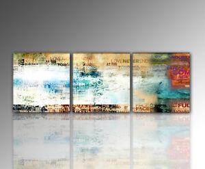DESIGNBILDER- WANDBILD modernes Liebe ABSTRAKT Wohnzimmer - 160x50cm  eBay