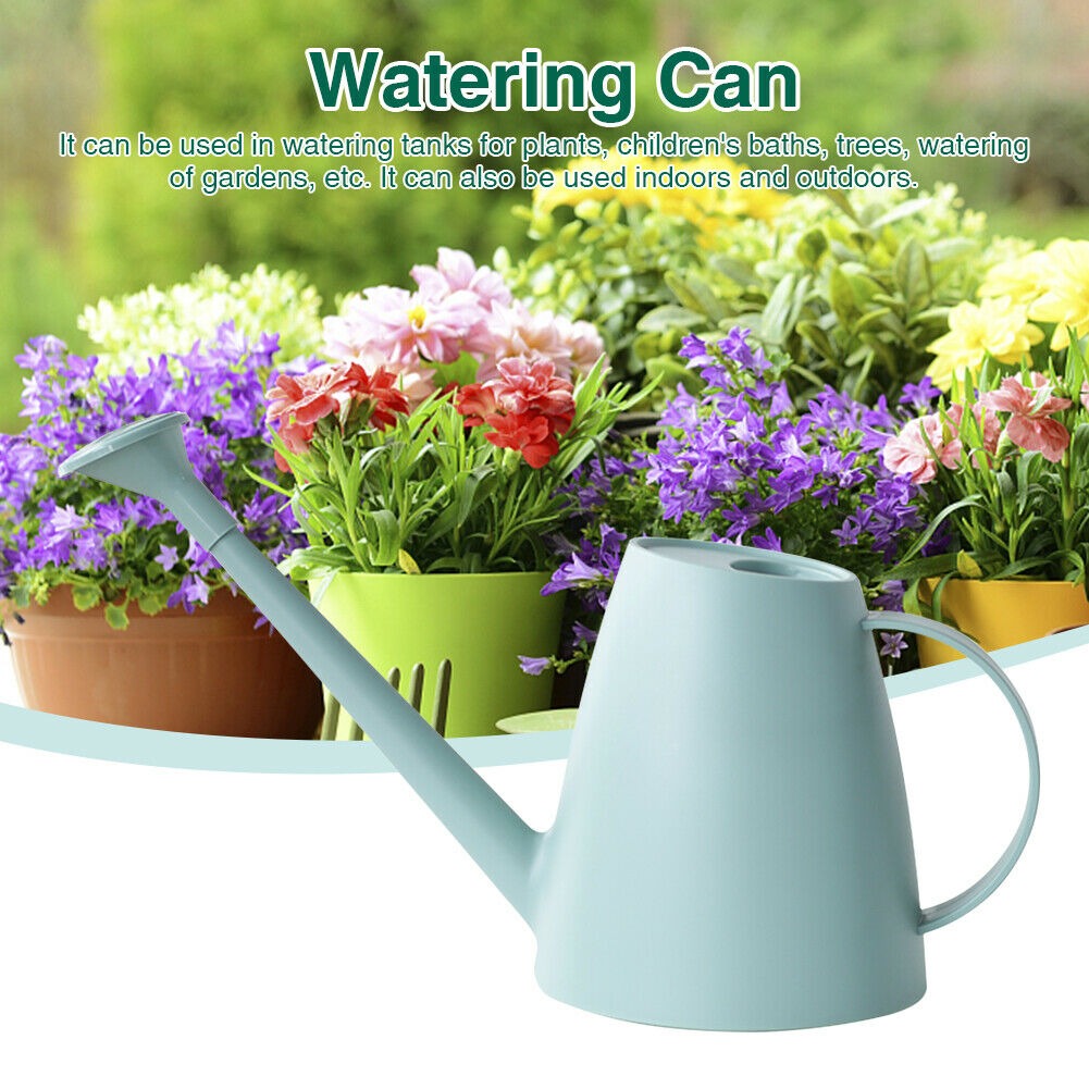 1.8L Long Spout Tool For Indoor Plants Ergonomic Home Watering Can Outdoor New