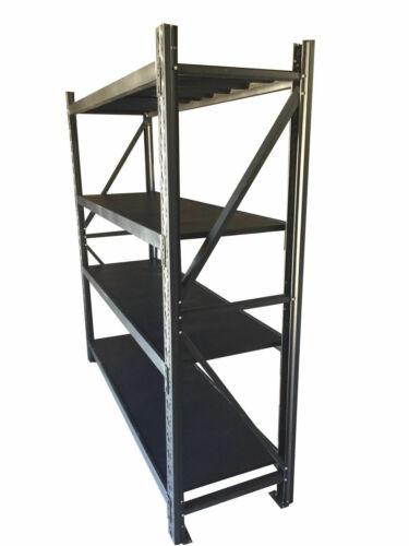 1M Length Garage Warehouse Metal Steel Storage Shelves Racking Racks Shelving