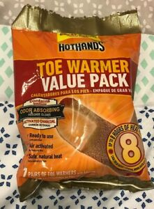 7 Pairs of Toe Warmers HotHands Toe Warmer Value Pack