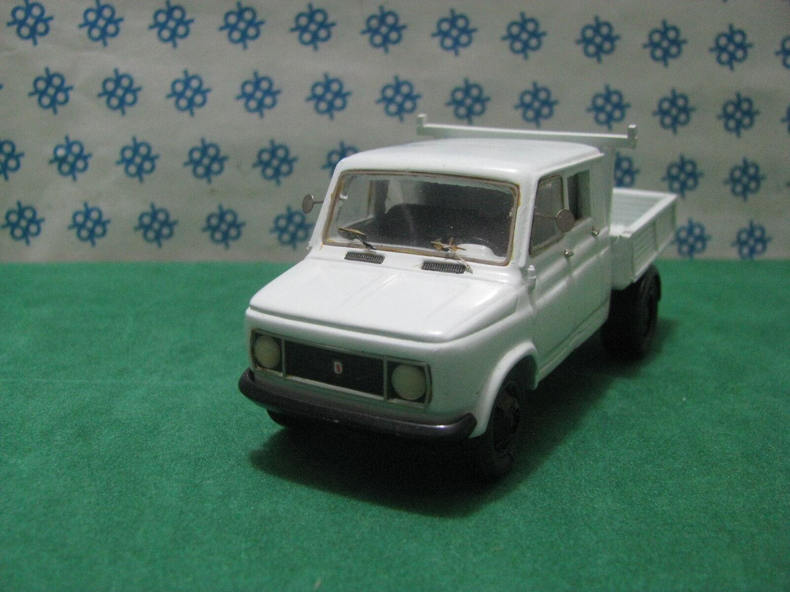 Fiat 616 1°Serie Doppel Kabine Kasten - 1 43 Tecnotren Transformation Gila M