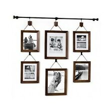 Multiple Picture Frame Set For Wall Photo Collage 5x7 8x10 Large Wood Art Decor