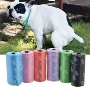 10-5-Rolls-Degradable-Pet-Waste-Poop-Bags-Dog-Cat-Cleaning-Up-Refill-Garbage-Bag