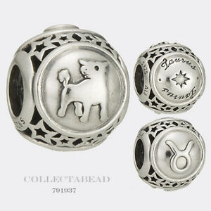 b2f4dd41d Image is loading Authentic-Pandora-Sterling-Silver-Zodiac-Taurus-Star-Sign-