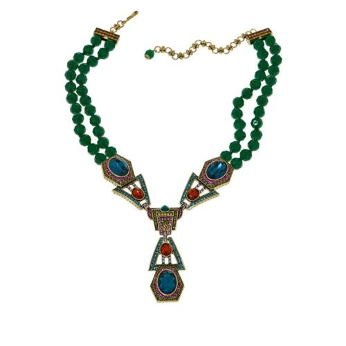 """HEIDI DAUS MARY POPPINS RETURNS /""""UNEXPECTED EXECUTION/"""" 16/"""" NECKLACE HSN $289"""