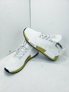 Size 7 Womens Adidas NMD R1 V2 White