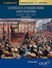 Conflict, Communism and Fascism: Europe 1890-1945 by Frank McDonough (Paperback, 2001)