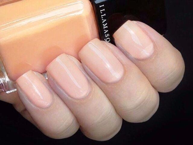 Illamasqua Nail Veil Bamboo Soft Delicate Peach Healthy Nails Only 1 On Ebay