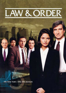 Law-and-Order-The-Fifth-Year-Season-5-5-Disc-DVD-NEW
