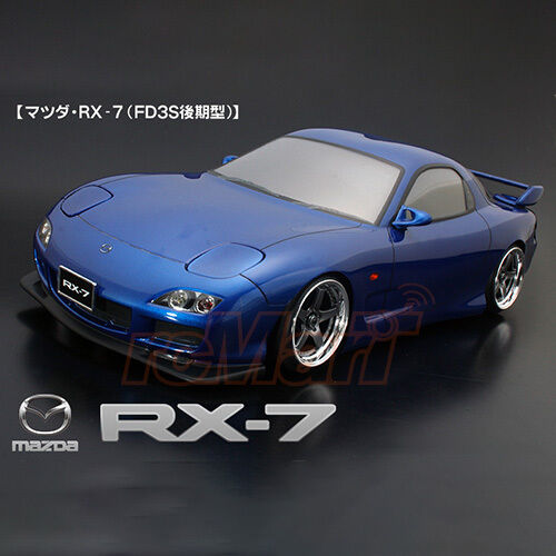 ABC Hobby 1 10 Mazda RX-7 FD3S Latter Term Type Clear Body RC Cars Drift  66159