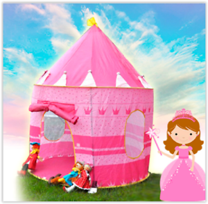Image is loading Childrens-Play-Tent-Pop-Up-Indoor-Outdoor-Fun-  sc 1 st  eBay & Childrens Play Tent Pop Up Indoor Outdoor Fun Kids Toy Pit Girl ...