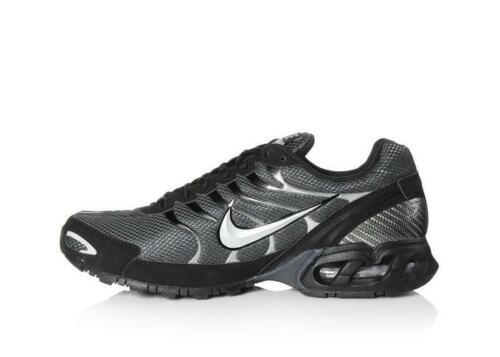 Men/'s Nike Air Max Torch 4 Running Shoe Anthracite//Metallic Silver//Black