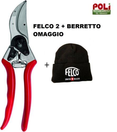 BERRETTO OMAGGIO FORBICE DA POTATURA FELCO 2 ORIGINALI TAGLIO MASSIMO 25MM