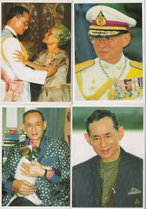 THEIR MAJESTIES THE KING BHUMIBOL ADULYADEJ & QUEEN SIRIKIT THAILAND POSTCARD 06