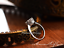 Vintage Style Micro-inlay CZ 925 Sterling Silver Engagement Solitaire Ring RS50
