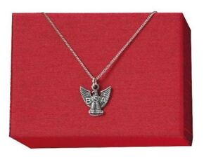 Boy-Scout-Eagle-Scout-Necklace-Antique-Silver-Tone-20-034-Chain-Mom-Dad-Gift-New