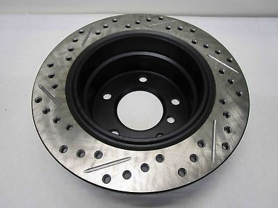 Rear Left StopTech 127.40058L Sport Drilled//Slotted Brake Rotor 1 Pack