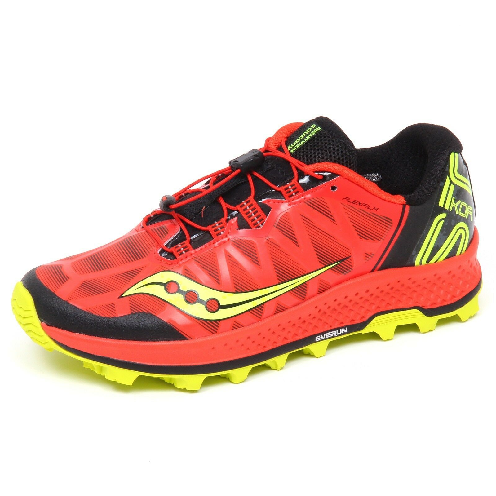 E7522 sneaker uomo orange SAUCONY KOA ST scarpe shoe man
