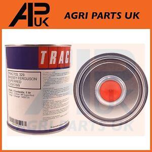 Details about 1 Litre Tractol Super Red Paint Massey Ferguson 35 65 135 165  240 290 Tractor