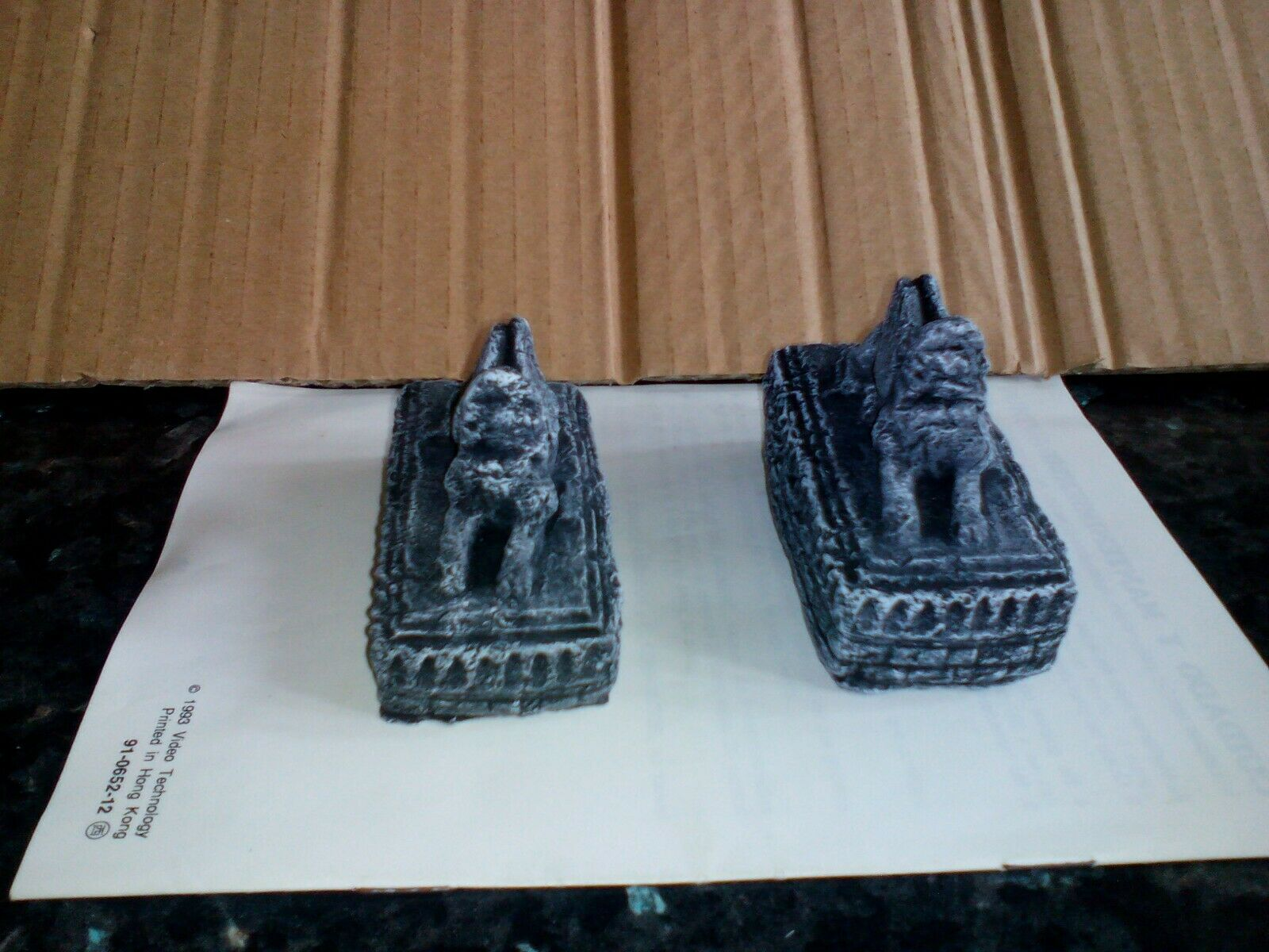 LOTR Pro painted Scenery Amon Hen Statues Lord Rings Hobbit