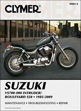 Suzuki Intruder VS 700 750 800 Boulevard S50 CLYMER MANUAL
