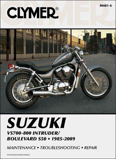 suzuki intruder vs 700 750 800 boulevard s50 clymer repair manual rh ebay com 2001 suzuki volusia 800 service manual Starter Issues Suzuki Intruder 800