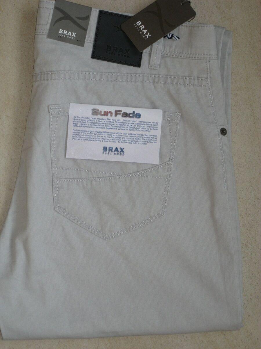 BRAX Jeans Stretchjeans Cadiz stone steingrau super leichte leichte leichte Sommerqualität  NEU ee67a2