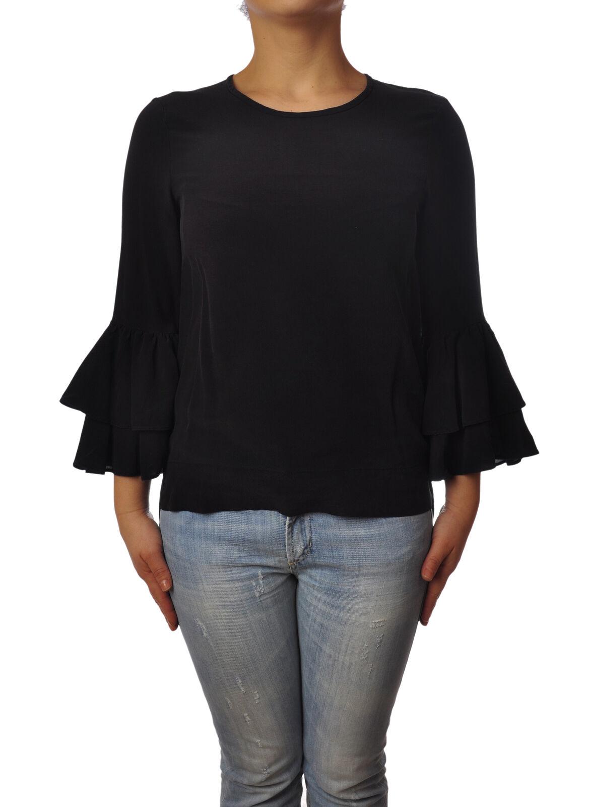 Ottod'ame - Shirts-Blouses - Woman - schwarz - 4923201H184924