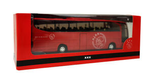 TEMA-TOYS-Ajax-Amsterdam-player-bus-Red-colour-NEW-in-box
