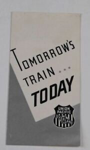 Vintage-Railroad-Advertisement-Union-Pacific-The-Overland-Tomorrow-039-s-Train-Today