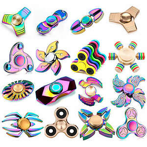 Fidget-Hand-Finger-Spinner-Aluminum-Ceramic-Bearing-EDC-Toys-ADHD-Stress-Relieve