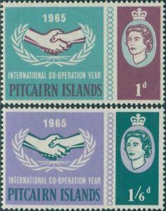 Pitcairn-Islands-1965-SG51-52-ICY-emblem-set-MLH