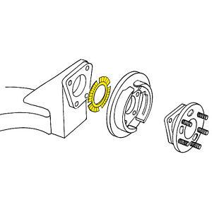 Wheel wn MOOG Rear Alignment Camber Shim for 1997-2008 Pontiac Grand Prix