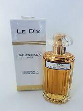 LE DIX BY BALENCIAGA 1.66 oz / 50 ml EAU DE TOILETTE SPRAY WOMEN NIB SEALED RARE
